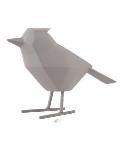 Vogel warm grijs large van Present Time