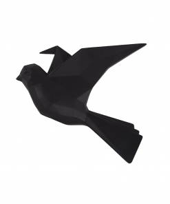 Wandhanger vogel zwart large van Present Time